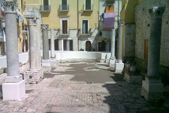 Ruderi della Chiesa di Santa Maria del Buonconsiglio a Bari vecchia