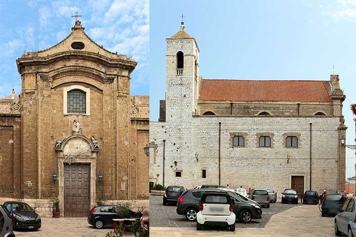 chiesa di santa scolastica a bari vecchia