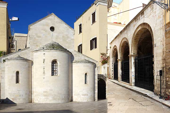 Chiesa della Vallisa a Bari Vecchia